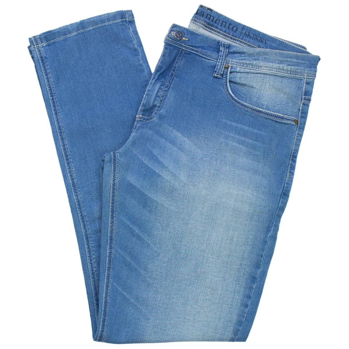 ed30880a3 Bizz Store - Calça Jeans Masculina Acostamento