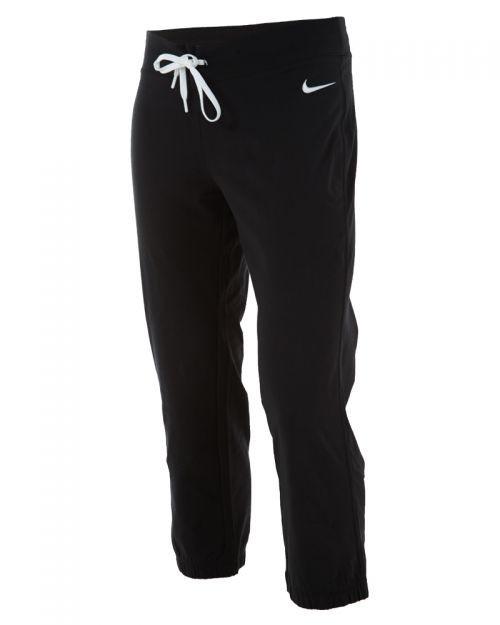 Bizz Store - Calça Feminina Nike Jersey Capri Moletom Cinza 92cd4c7012d