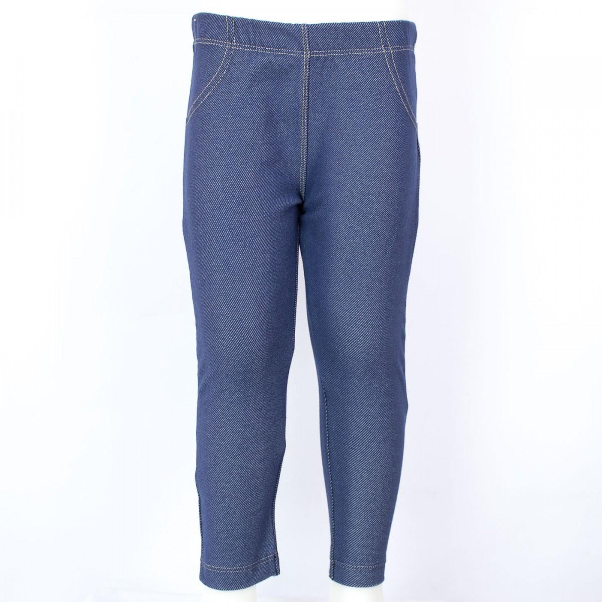 837366811 Bizz Store - Calça Legging Jeans Infantil Feminino Hering Kids