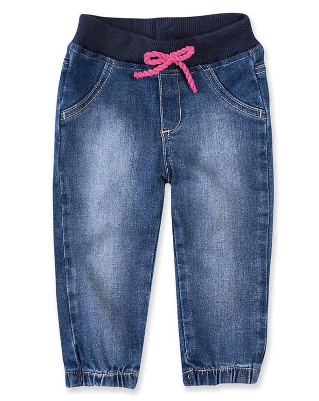 9c9ce0003 Bizz Store - Calça Jeans Jogger Bebê Menina Hering Kids Azul