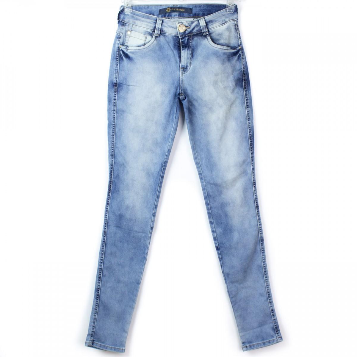 357ae214ac078 Imagem - Calça Jeans Ana Hickmann Skinny Ah1012 - 044223