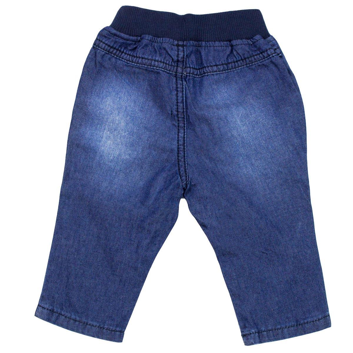 adc02446d Bizz Store - Calça Jeans Infantil Bebê Menino Hering Kids Azul