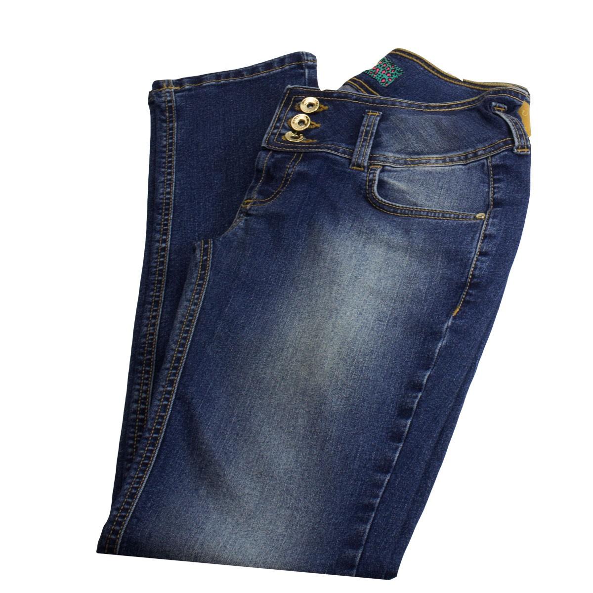 4b2e0cffb Bizz Store - Calça Jeans Infantil Colcci Fun Tina Indigo