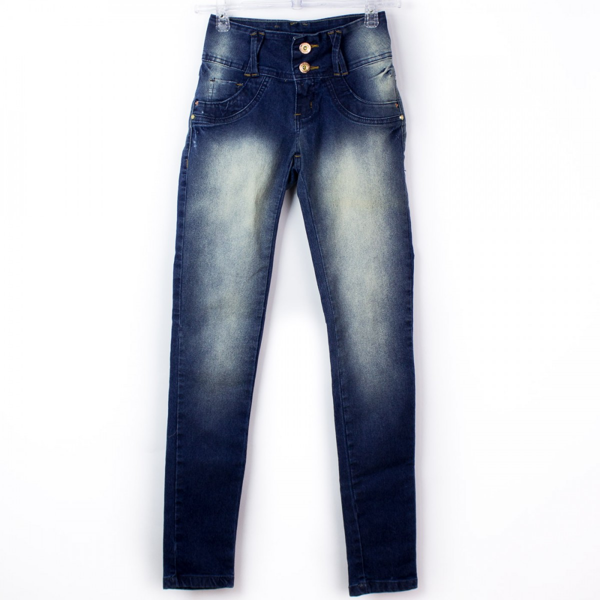 8a61ebc87d Bizz Store - Calça Jeans Feminina Max Denim Cigarrete Skinny