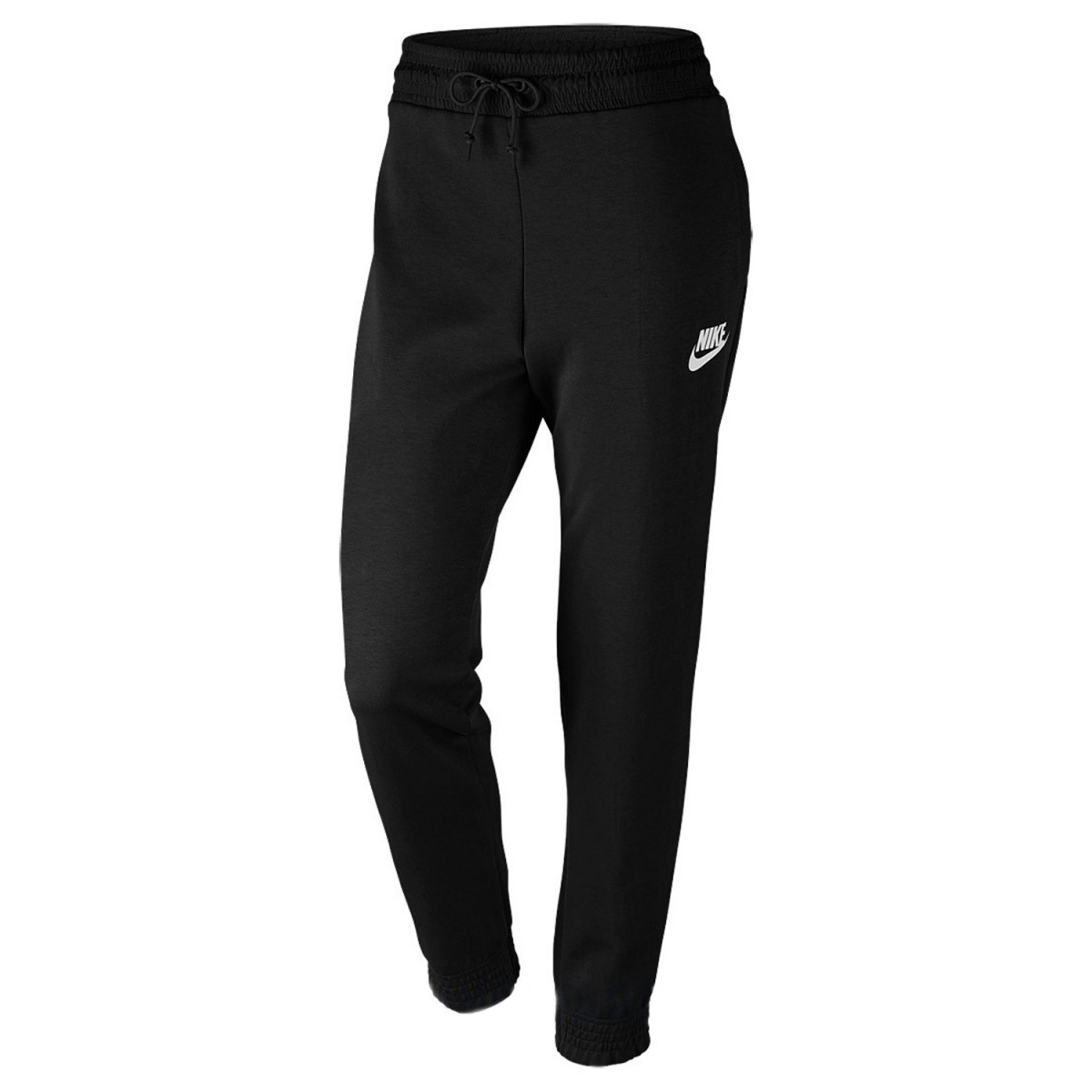 Bizz Store - Calça Feminina Nike AV15 Pant FLC Preta Moletom 05f411adb97