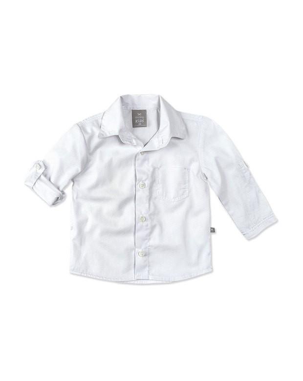 9b382919d Bizz Store - Camisa Social Infantil Hering Kids Manga Longa
