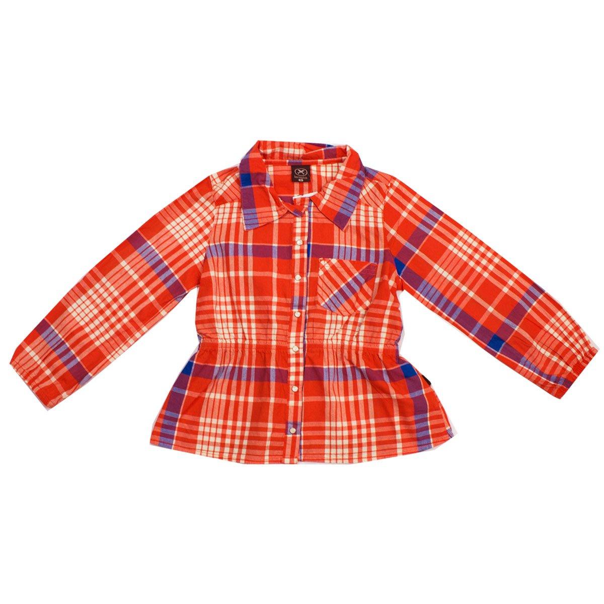 fe712a0b4e Bizz Store - Camisa Xadrez Infantil Hering Kids Laranja