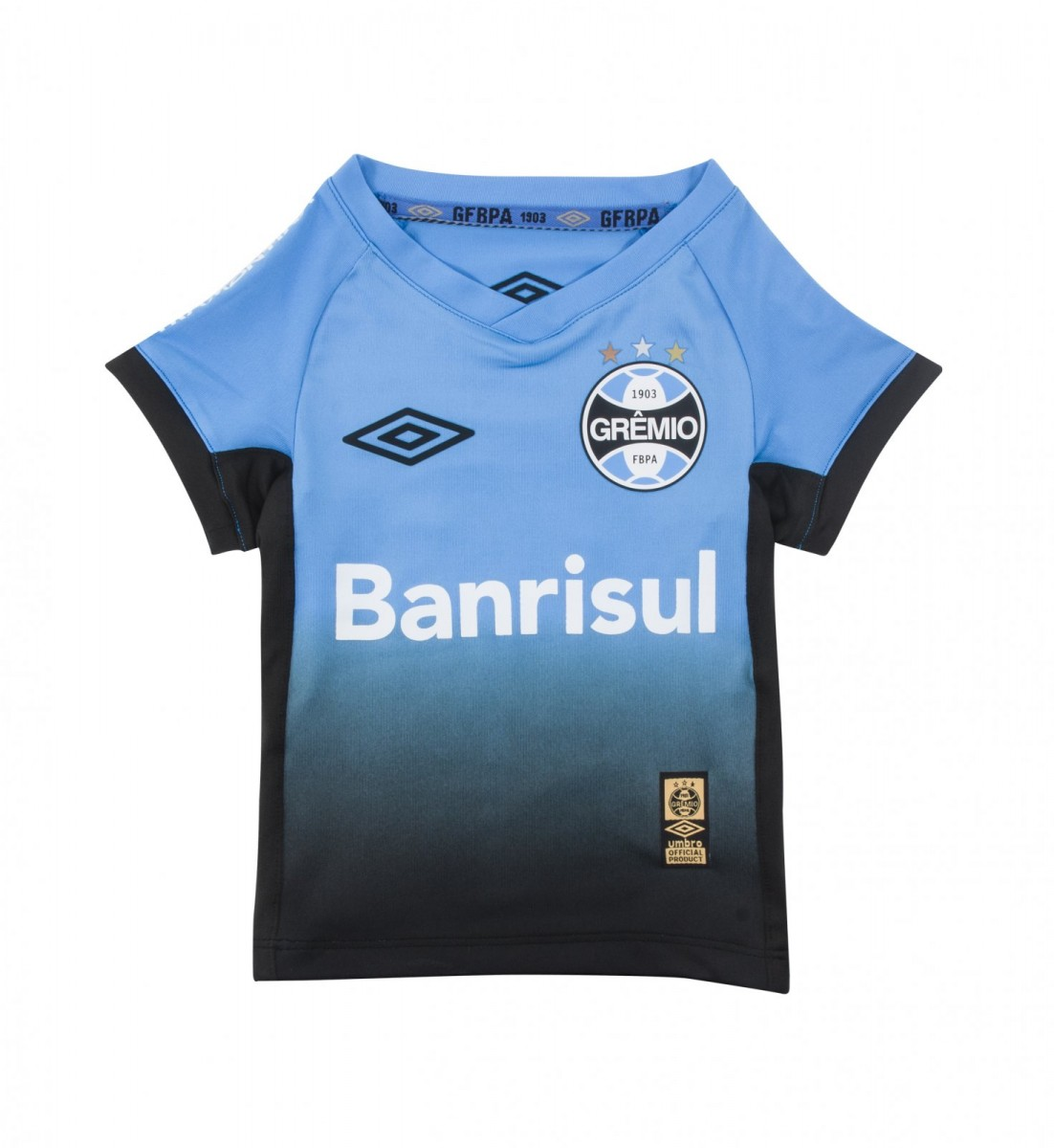 85c68555f8 Bizz Store - Camisa Oficial Infantil Umbro Grêmio Of 3 2015 Menino