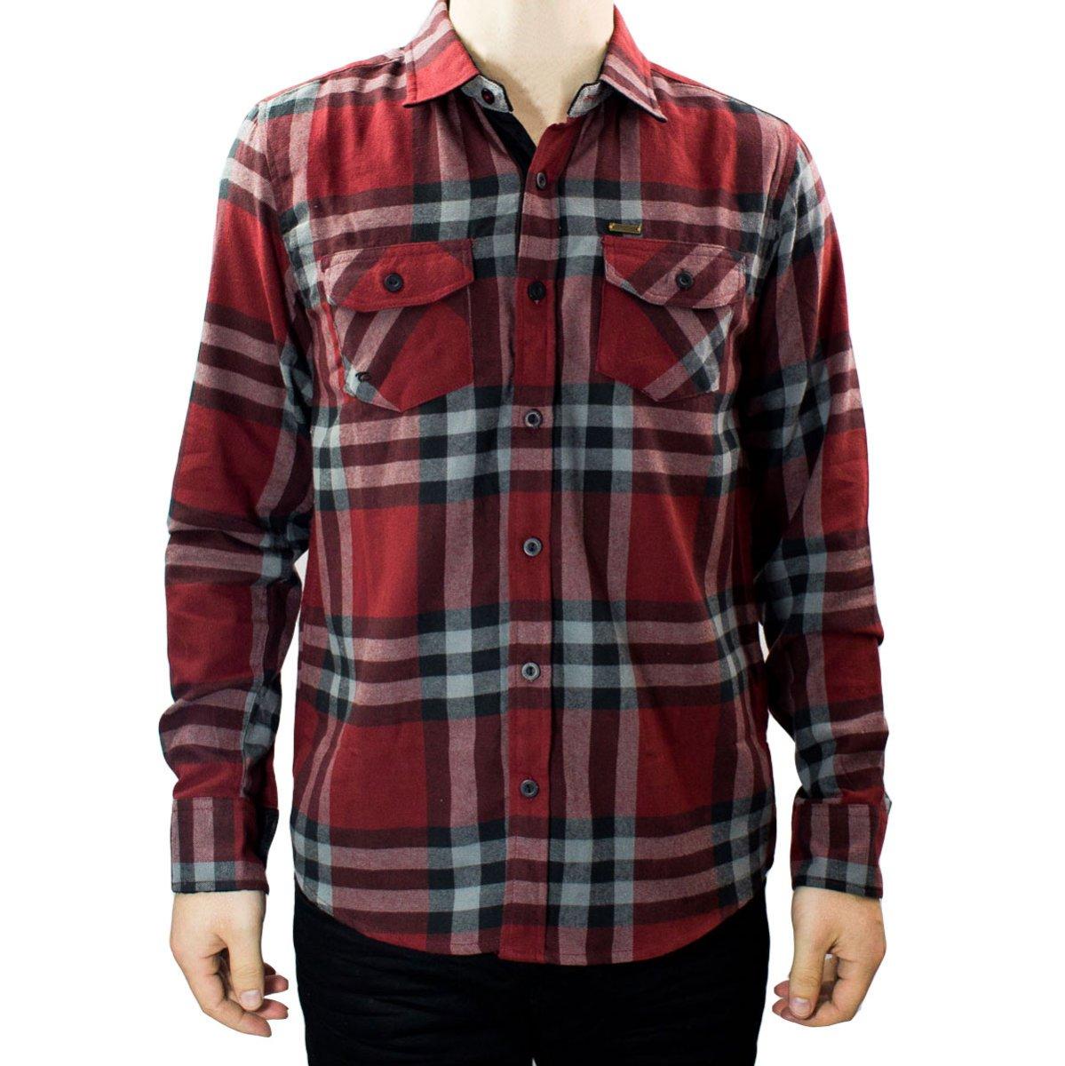 15219fa65b1 Bizz Store - Camisa Masculina Gangster Xadrez Flanela Manga Longa