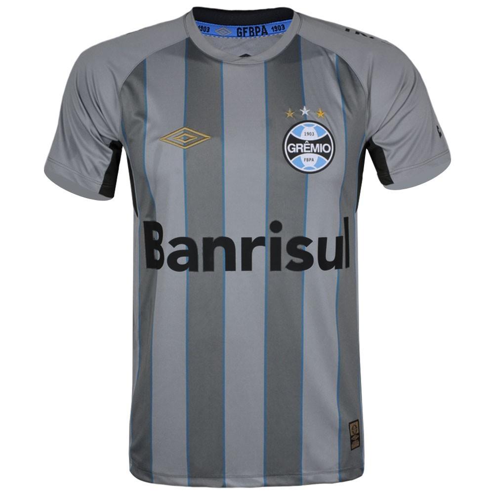 8704234bc565d Bizz Store - Camisa Oficial Grêmio Para Goleiro Umbro Masculina