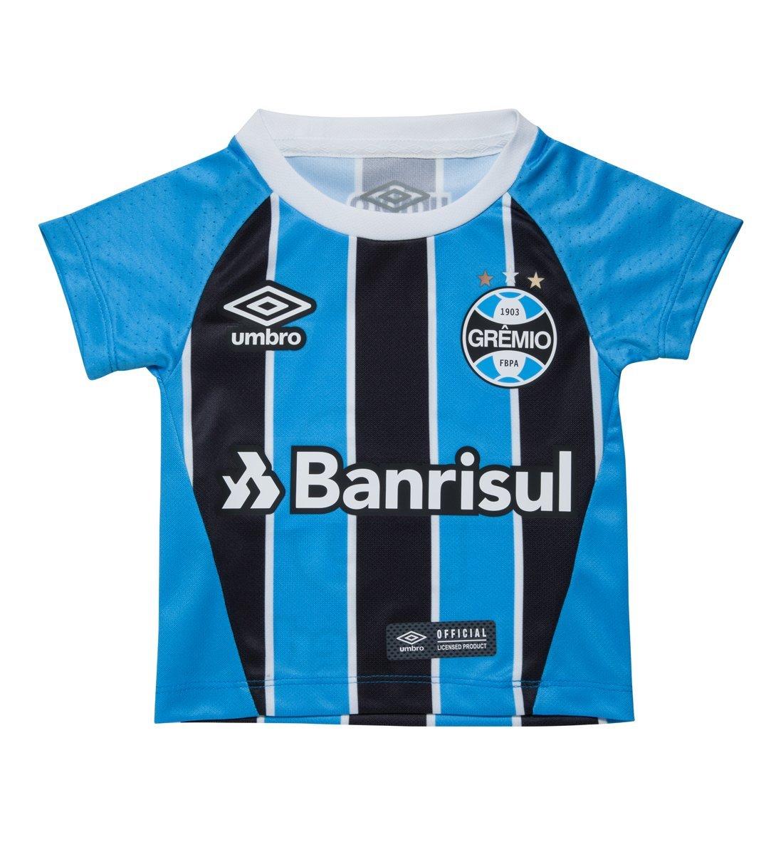 94f72bd9d Bizz Store - Camisa Oficial Umbro Grêmio 2017 Infantil Tricolor