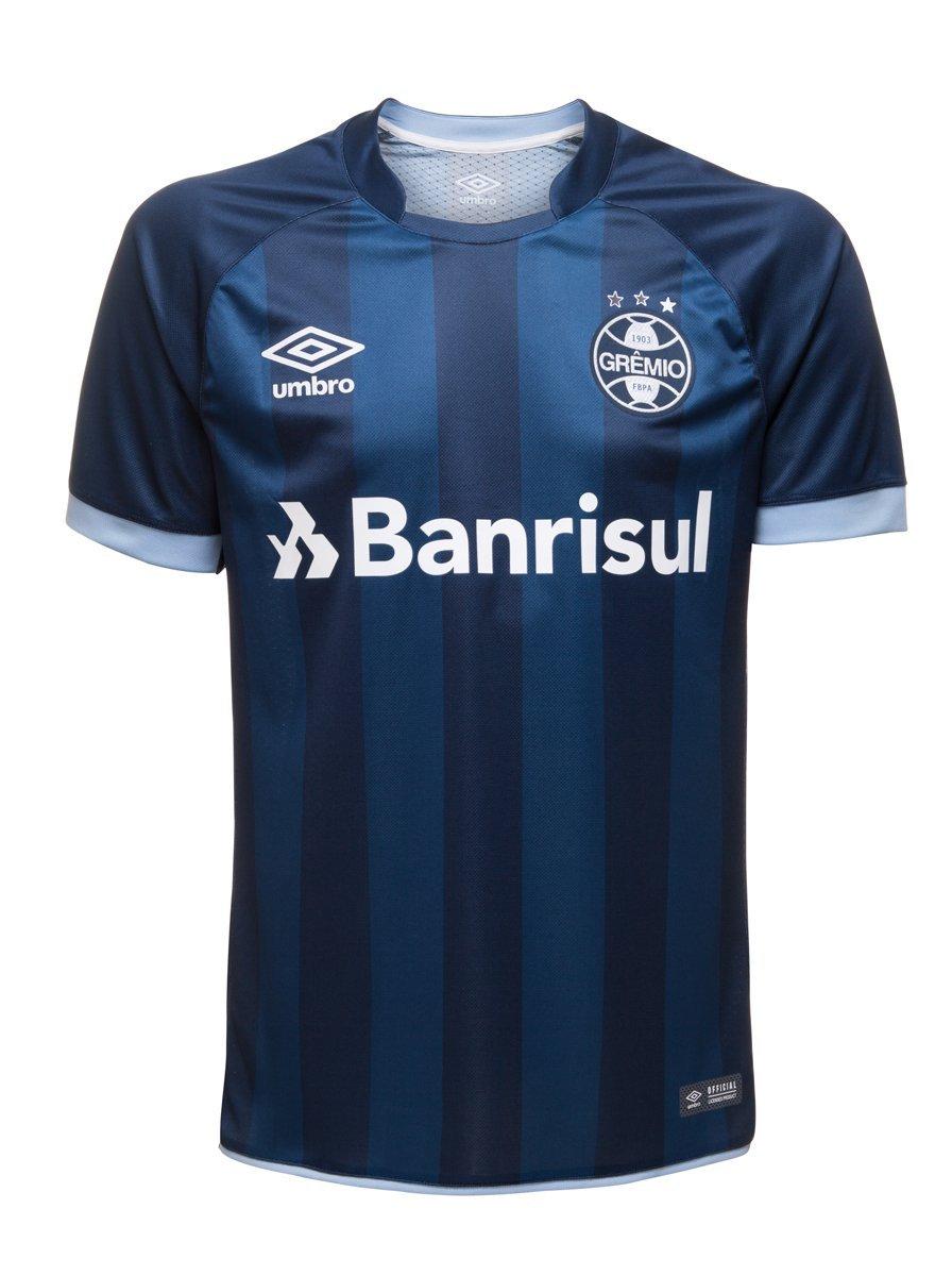 54f2b3712f Bizz Store - Camisa Oficial Umbro Grêmio 2017 2018 Sem Número