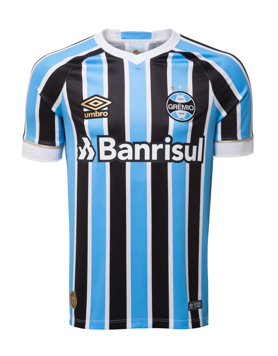 fa5abdb08f Bizz Store - Camisa Oficial Masc Umbro Grêmio 2018 Número 10