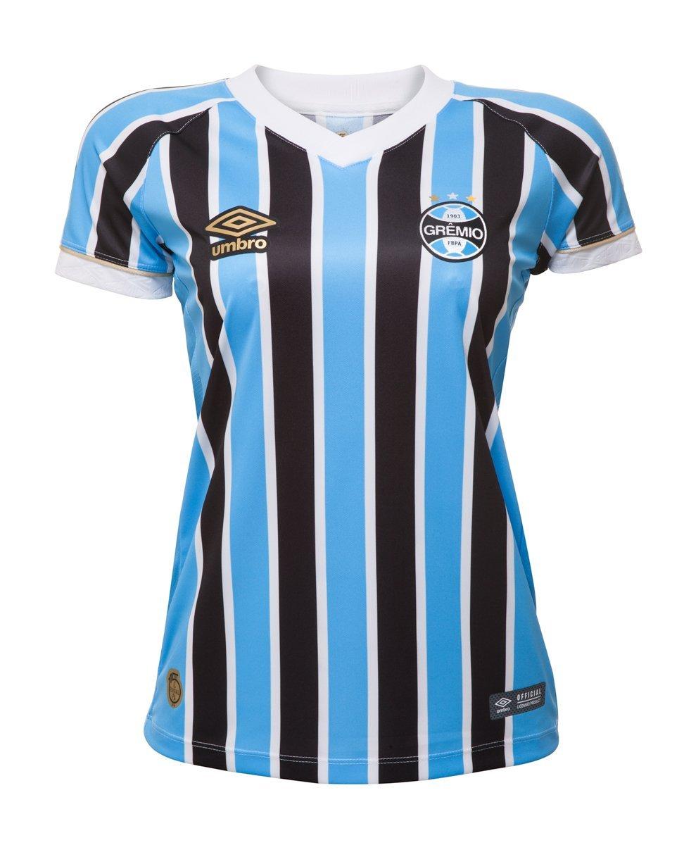 842ec2dcc2915 Bizz Store - Camisa Oficial Feminina Umbro Grêmio OF I 2018
