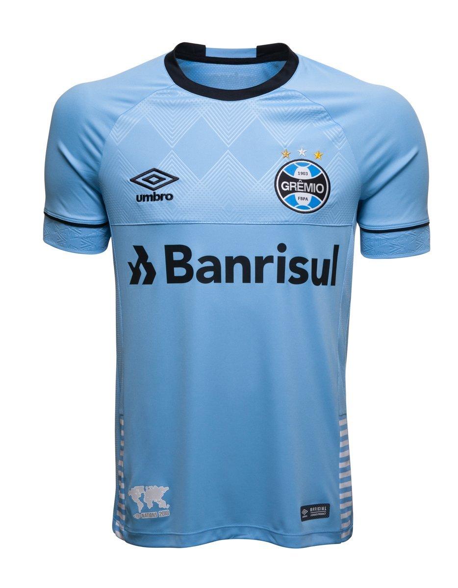 ae6b9ed667 Bizz Store - Camisa Oficial Masculina Umbro Grêmio Charrua 2018