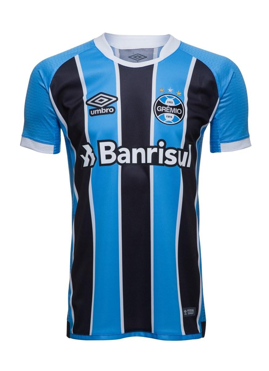 fcea01dece Bizz Store - Camisa Oficial Jogo Umbro Grêmio 2017 Masculina