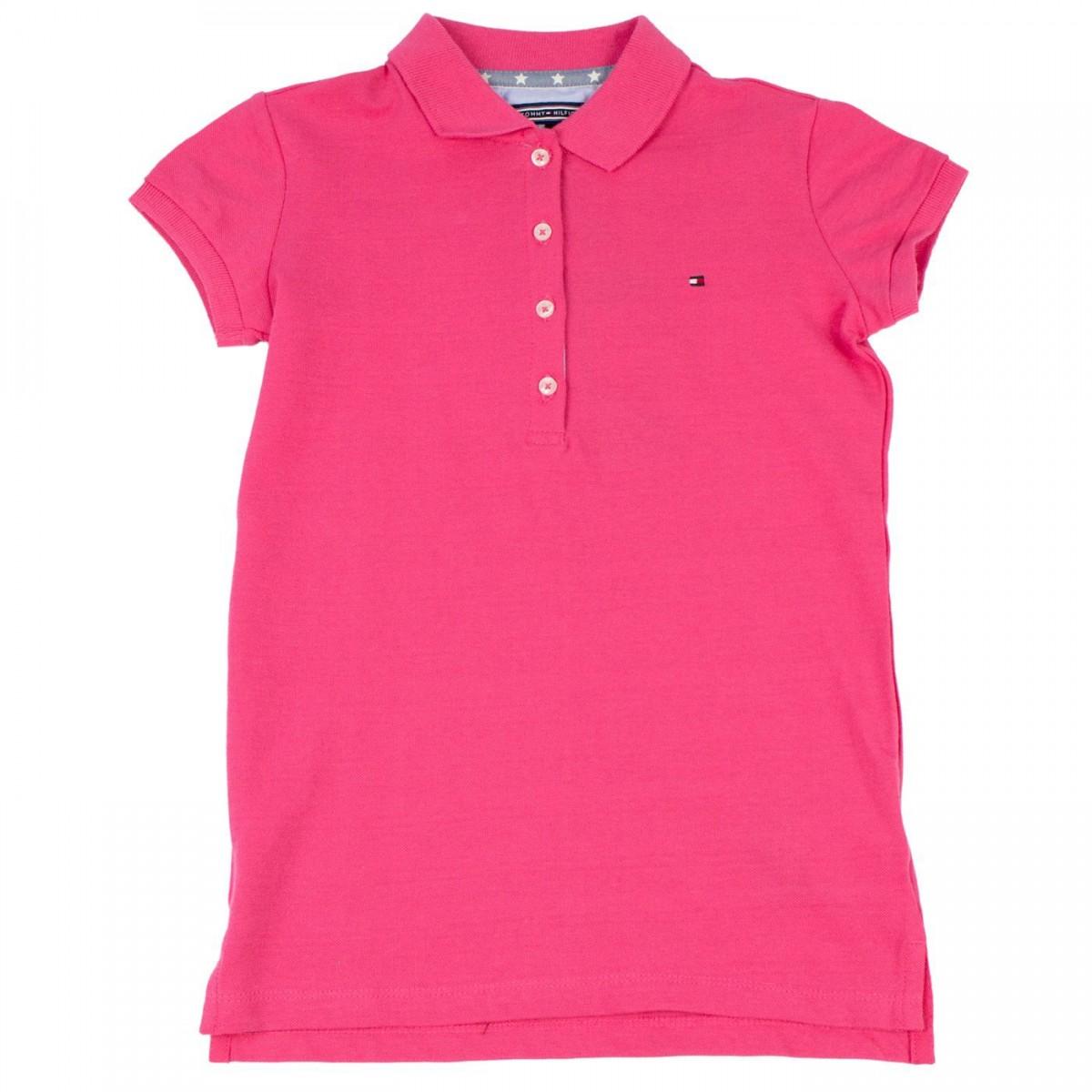 05d377cdbe Bizz Store - Camisa Polo Infantil Feminina Tommy Hilfiger