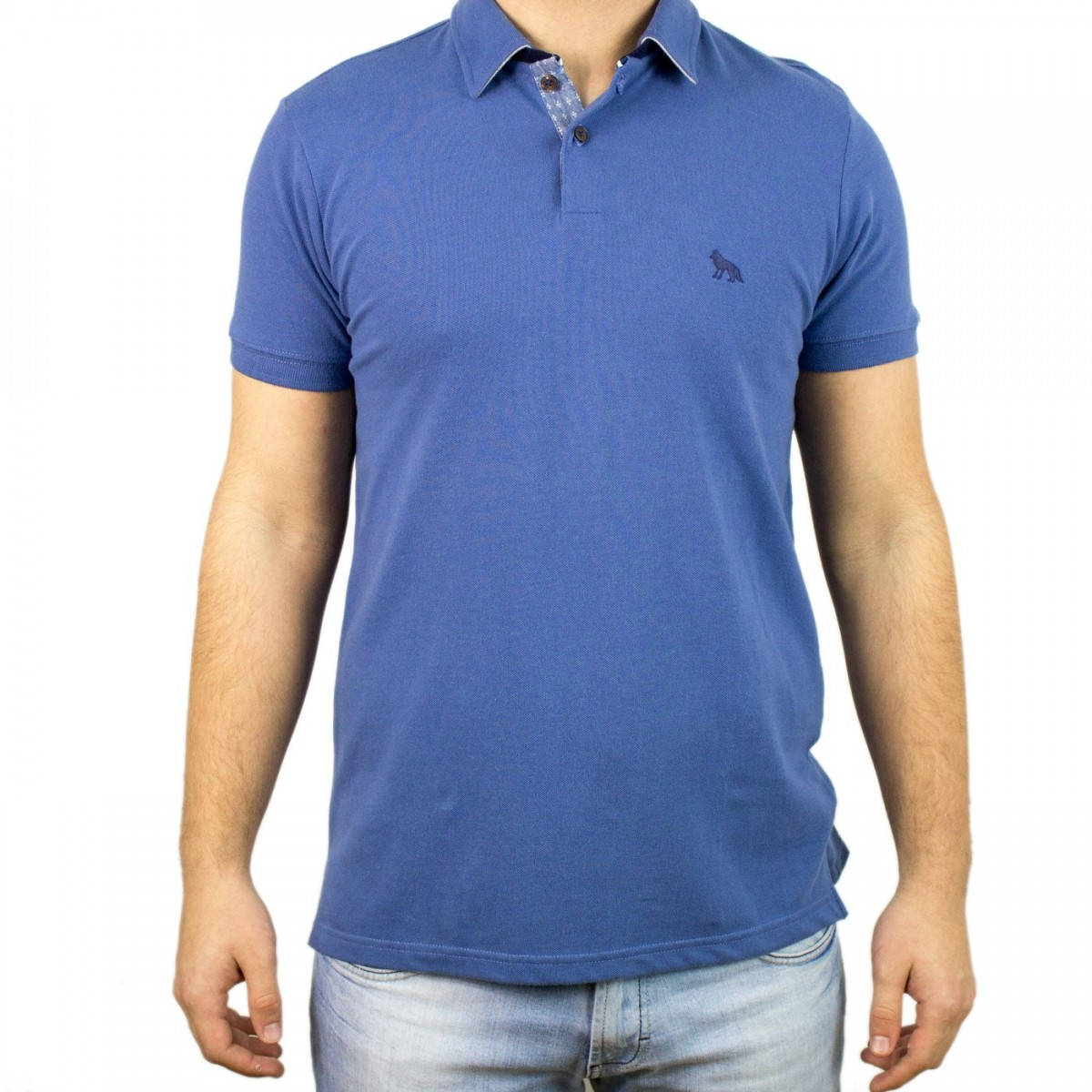2c775ebc6 Bizz Store - Camisa Polo Masculina Acostamento Manga Curta