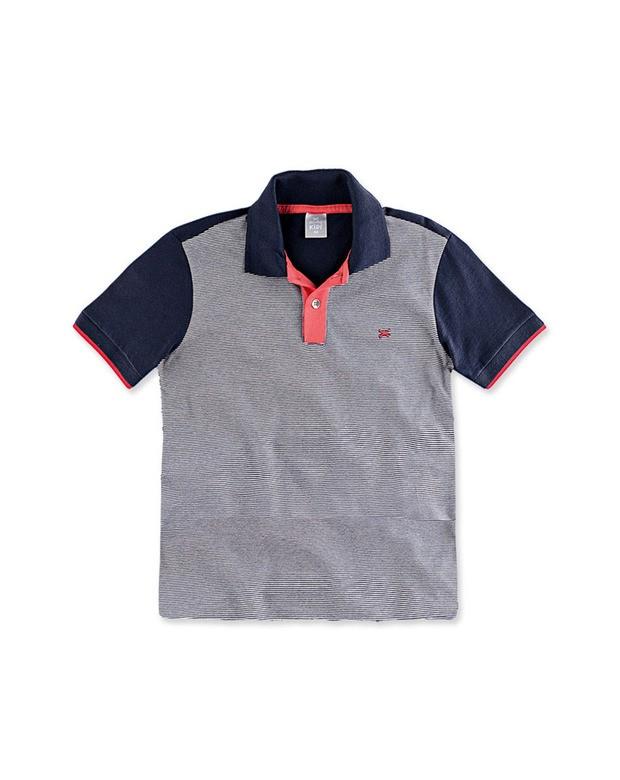 66f3ab1d8059b Bizz Store - Camisa Polo Infantil Menino Hering Kids Listrada