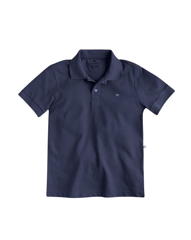 c294e8afc4bd9 Bizz Store - Camisa Polo Infantil Masculina Hering Kids Marinho