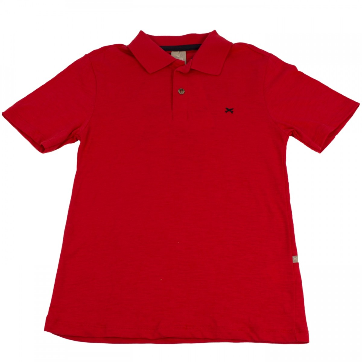 de7f371c289aa Bizz Store - Camisa Polo Infantil Menino Hering Kids Vermelha