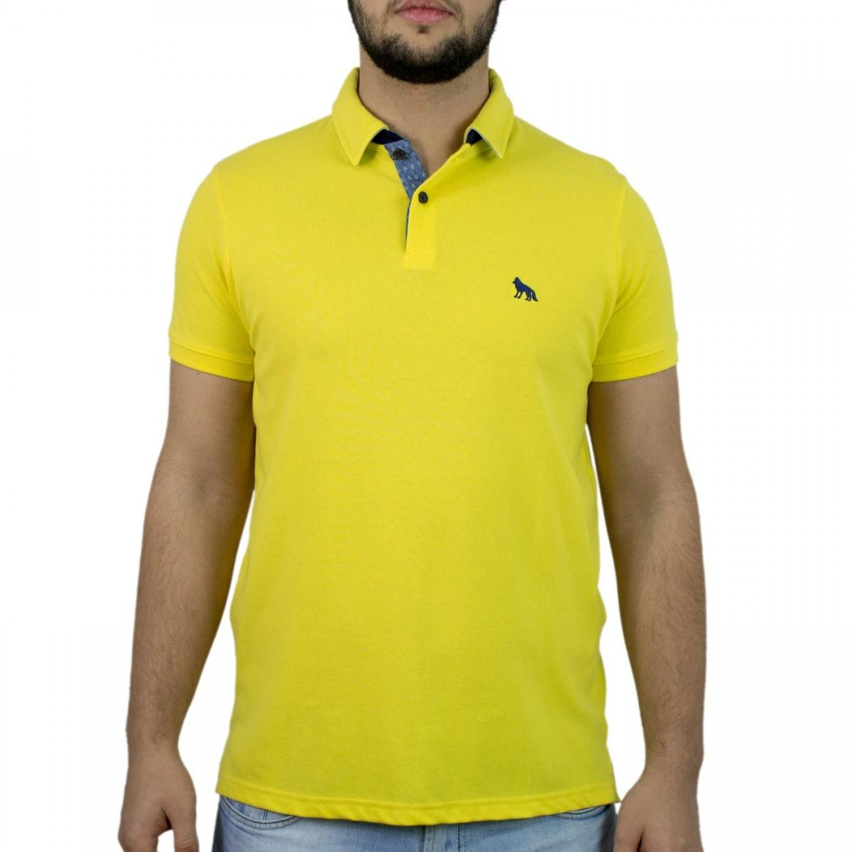 1af9eadadd Bizz Store - Camisa Polo Masculina Acostamento Manga Curta
