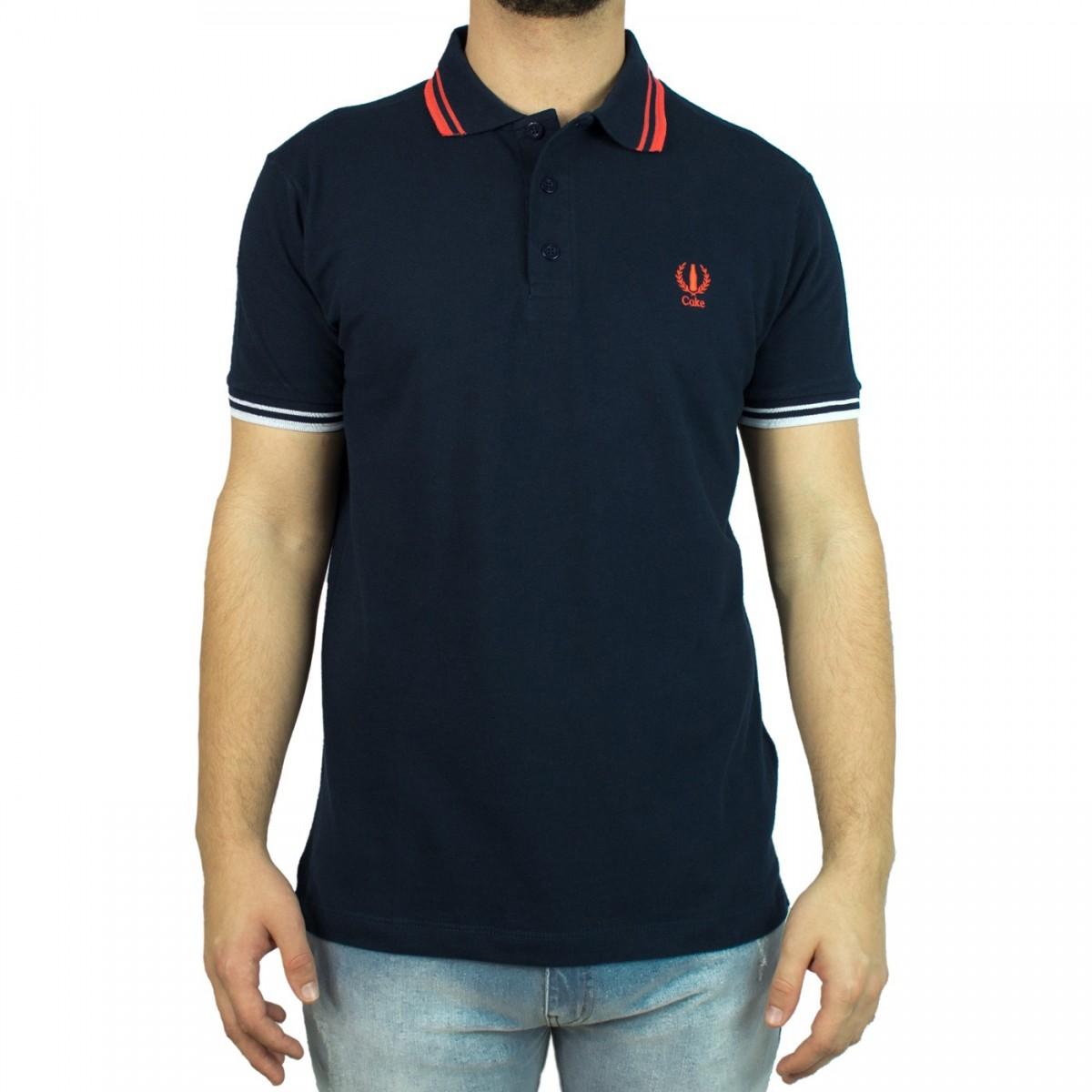 be38843b261ff Bizz Store - Camisa Polo Masculina Coca-Cola Manga Curta