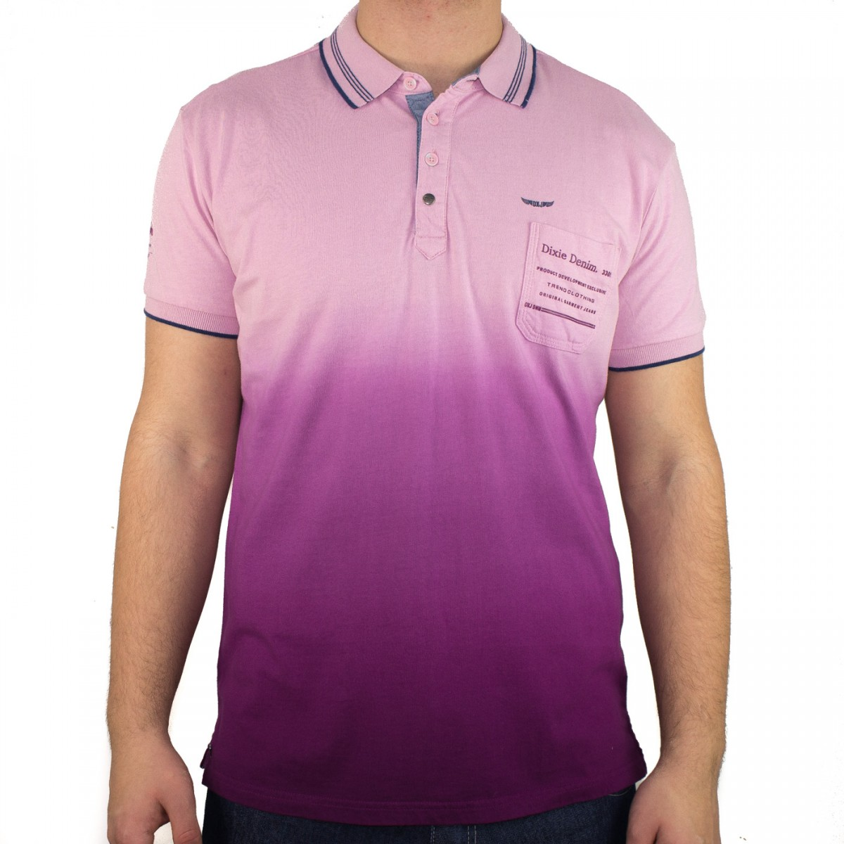 3870433ac3 Bizz Store - Camisa Polo Masculina Dixie Manga Curta Azul