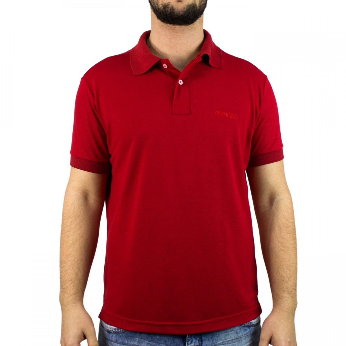 cf5cde465 Bizz Store - Camisa Polo Masculina Osmoze Manga Curta Preta
