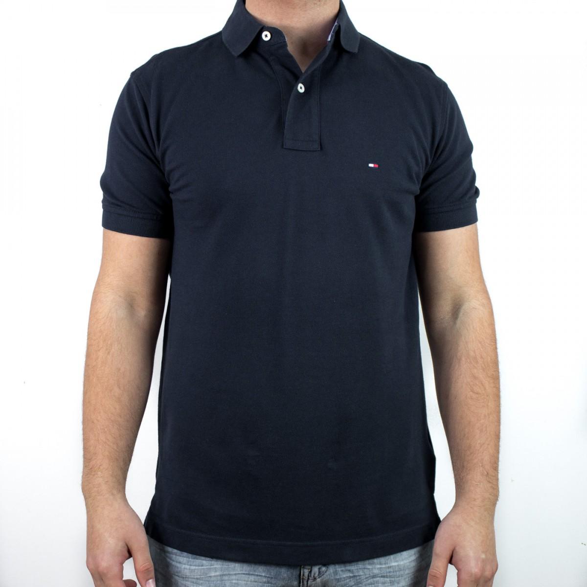 Bizz Store - Camisa Polo Masculina Tommy Hilfiger Manga Curta a0e8a51b81483