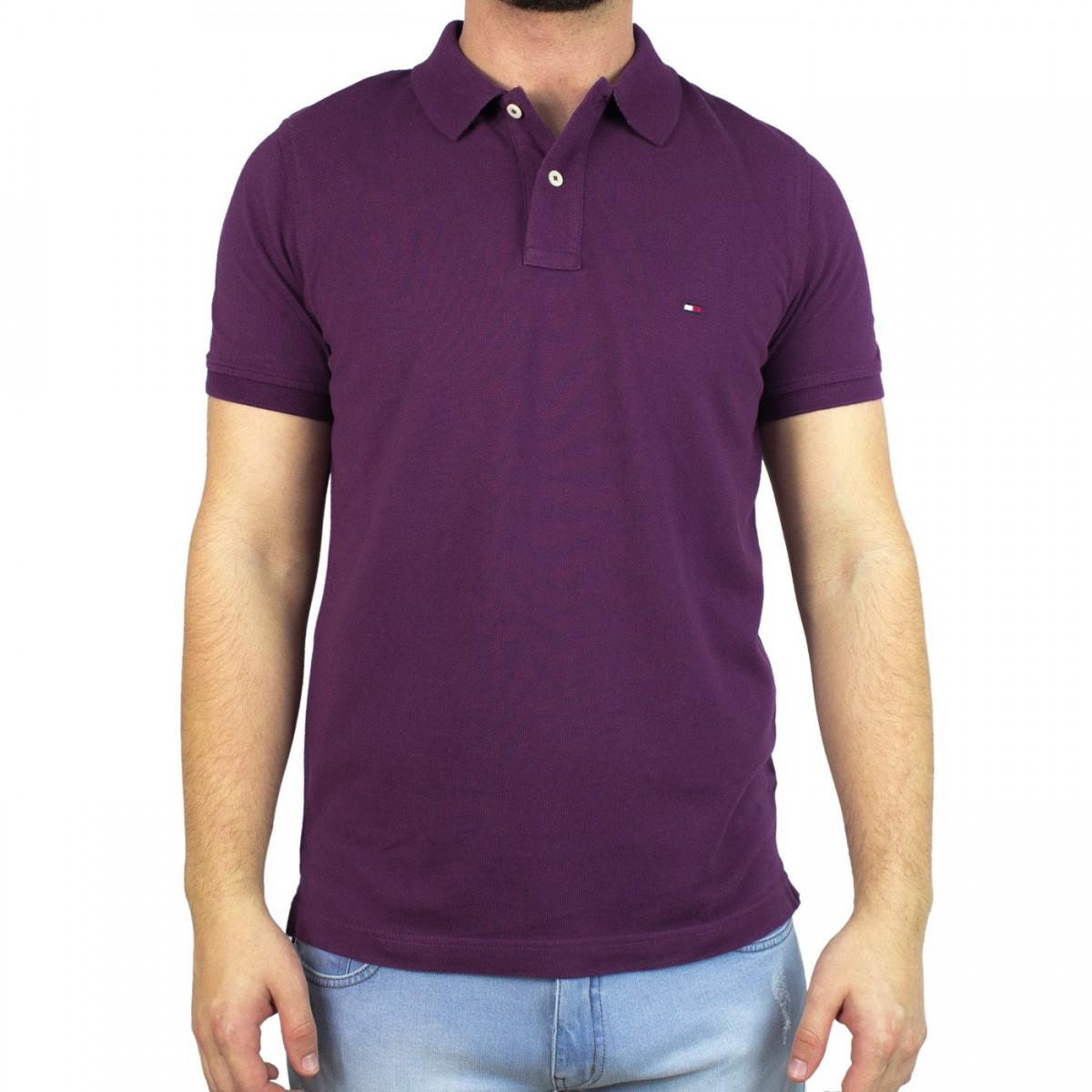 fc504b9e4 Bizz Store - Camisa Polo Masculina Tommy Hilfiger Slim Fit