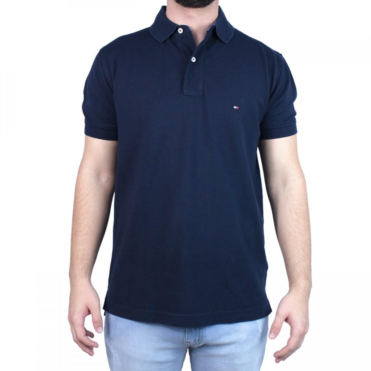 9b736ac947e6c Bizz Store - Camisa Polo Masculina Tommy Hilfiger Manga Curta