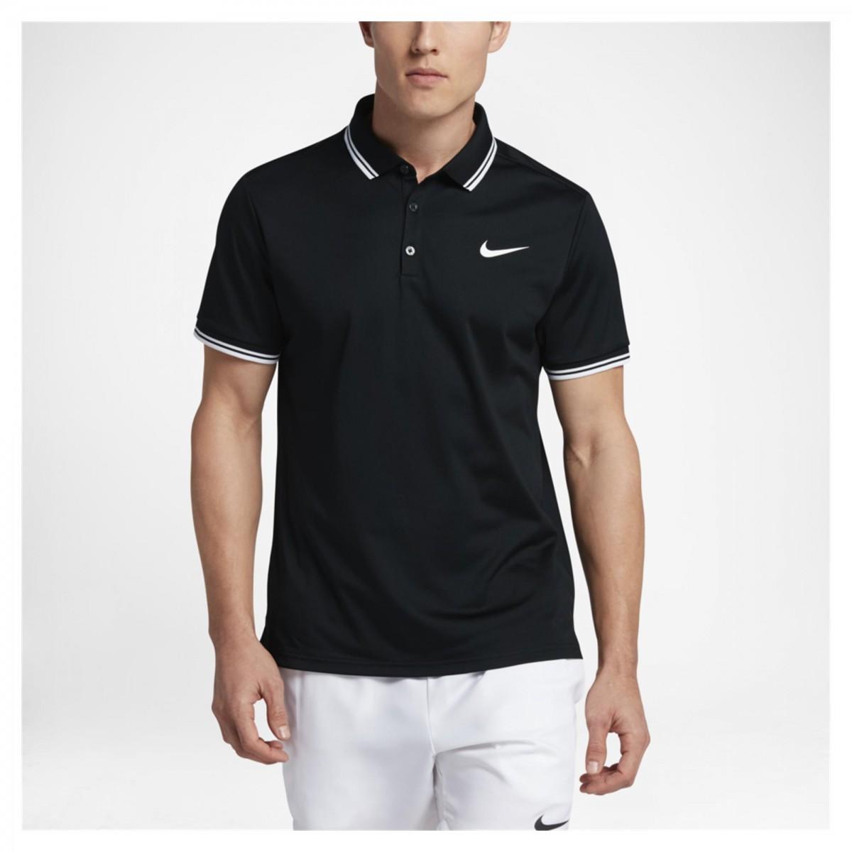 fcae2d066f775 Bizz Store - Camisa Polo Masculina Nike Court Dry Solid Preta