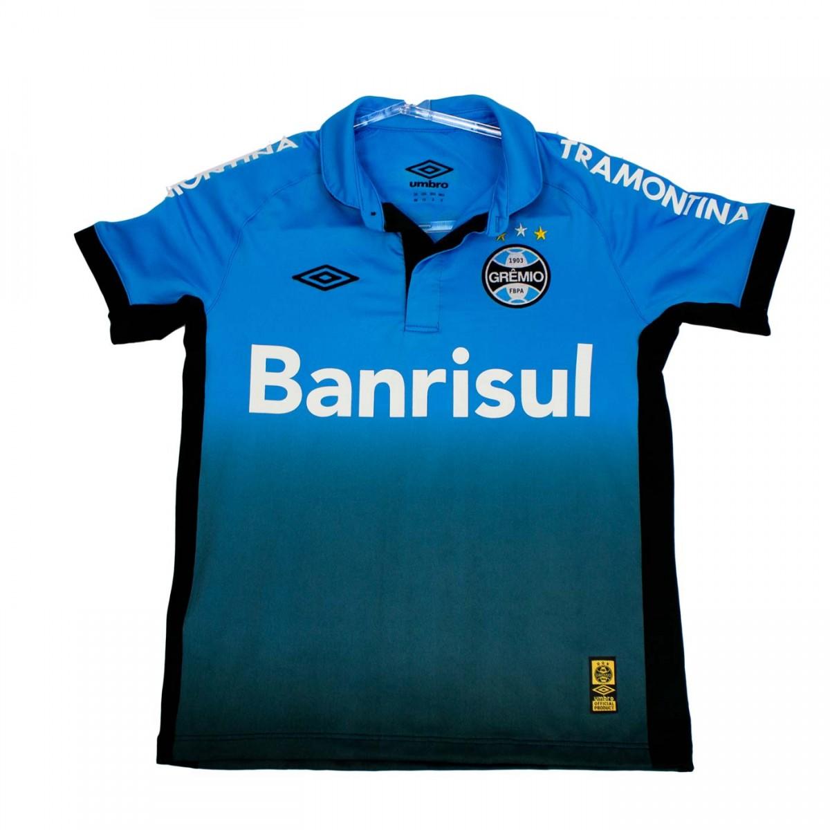 aa4e097e73 Bizz Store - Camisa Polo Oficial Umbro Grêmio OF 3 2015 Infantil
