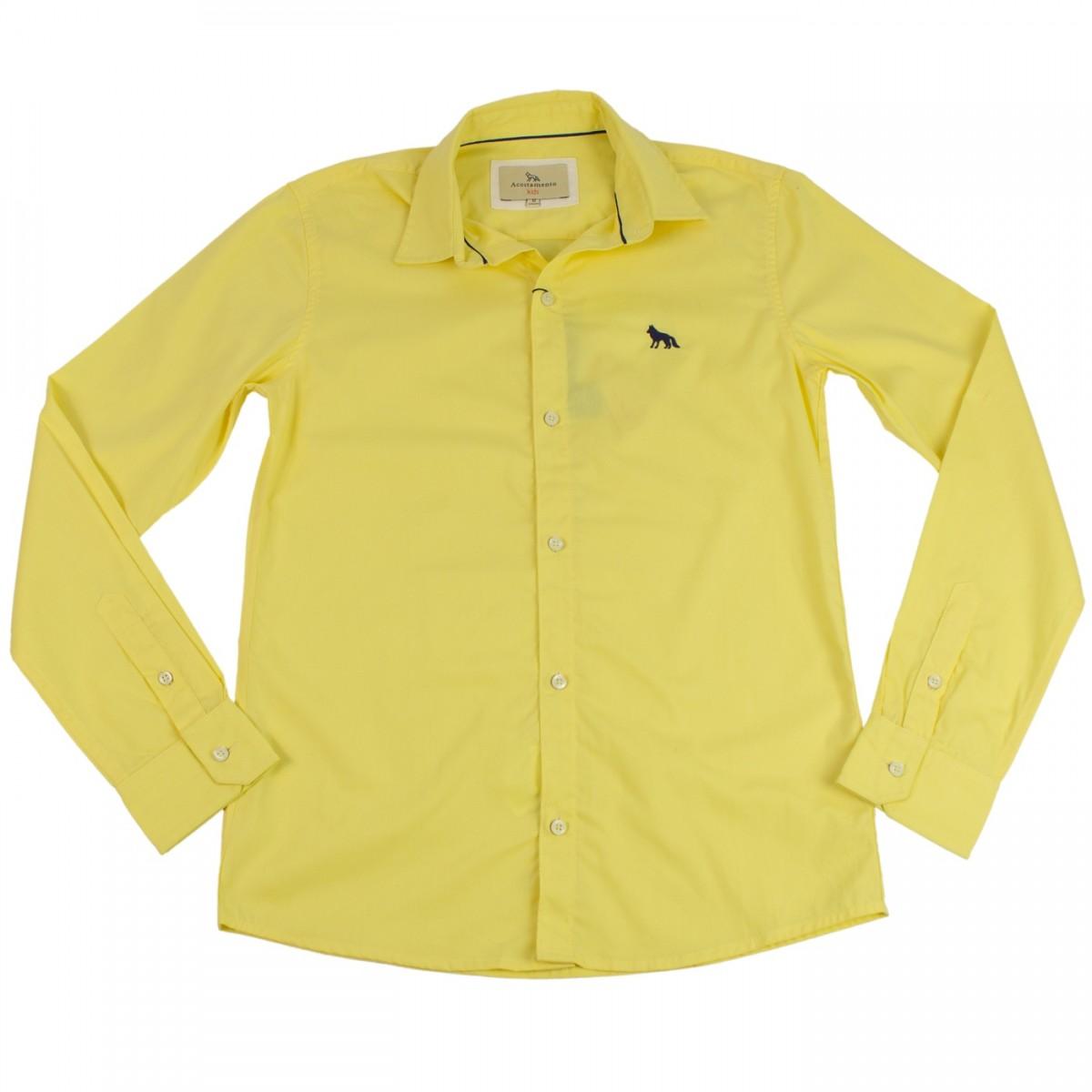 b47a2e46d1 Bizz Store - Camisa Social Infantil Masculina Acostamento