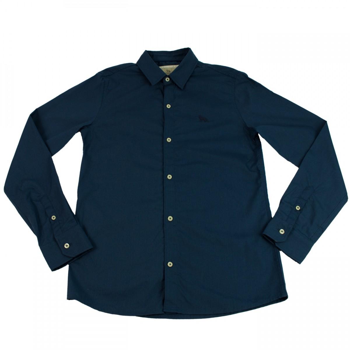 Bizz Store - Camisa Social Infantil Masculina Acostamento 7d23199ca67