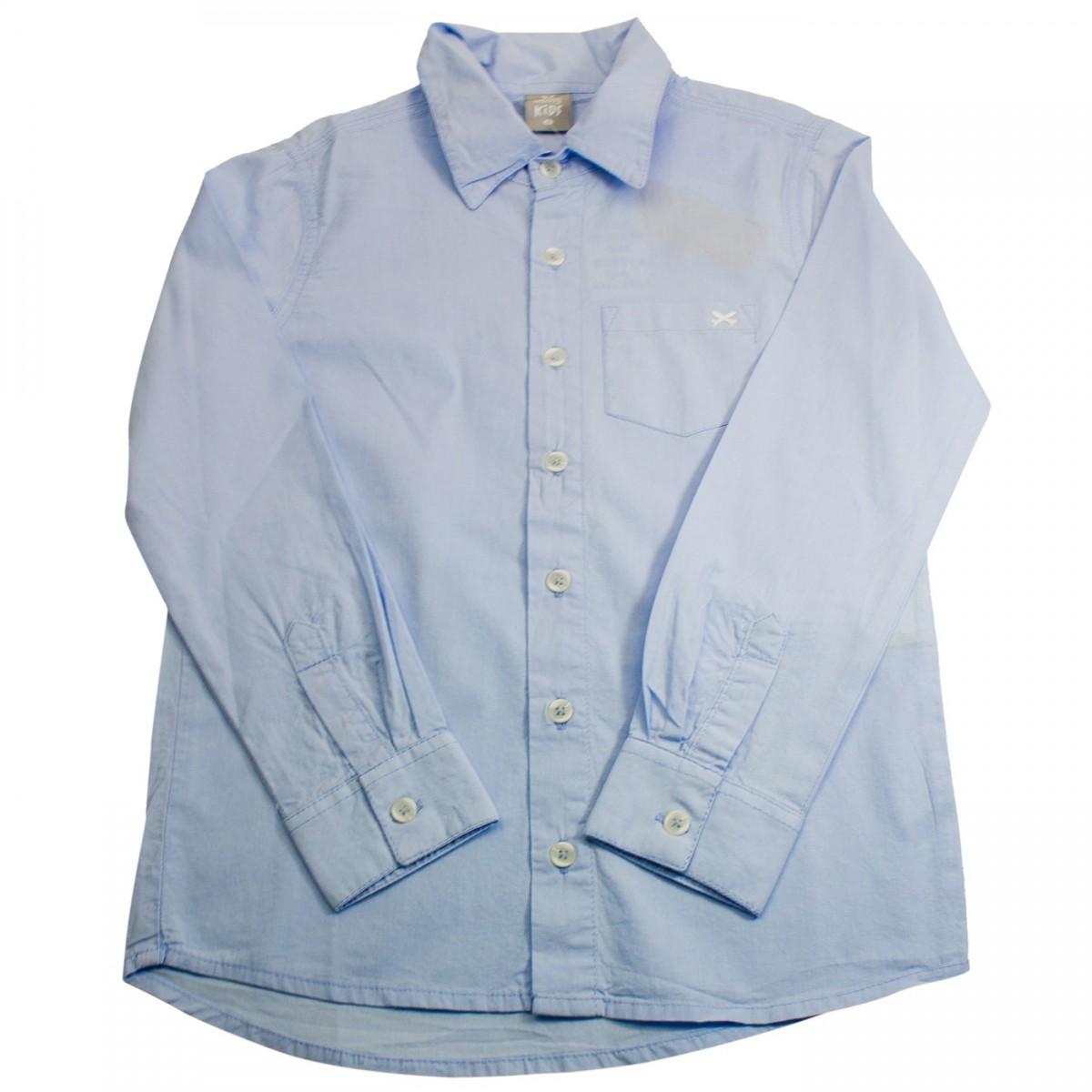Bizz Store - Camisa Social Infantil Menino Hering Kids Branca 55fd1c56d6d19