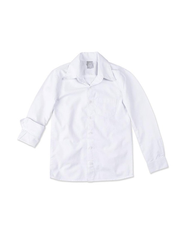 0b72eda1d8 Bizz Store - Camisa Social Infantil Menino Hering Kids Branca