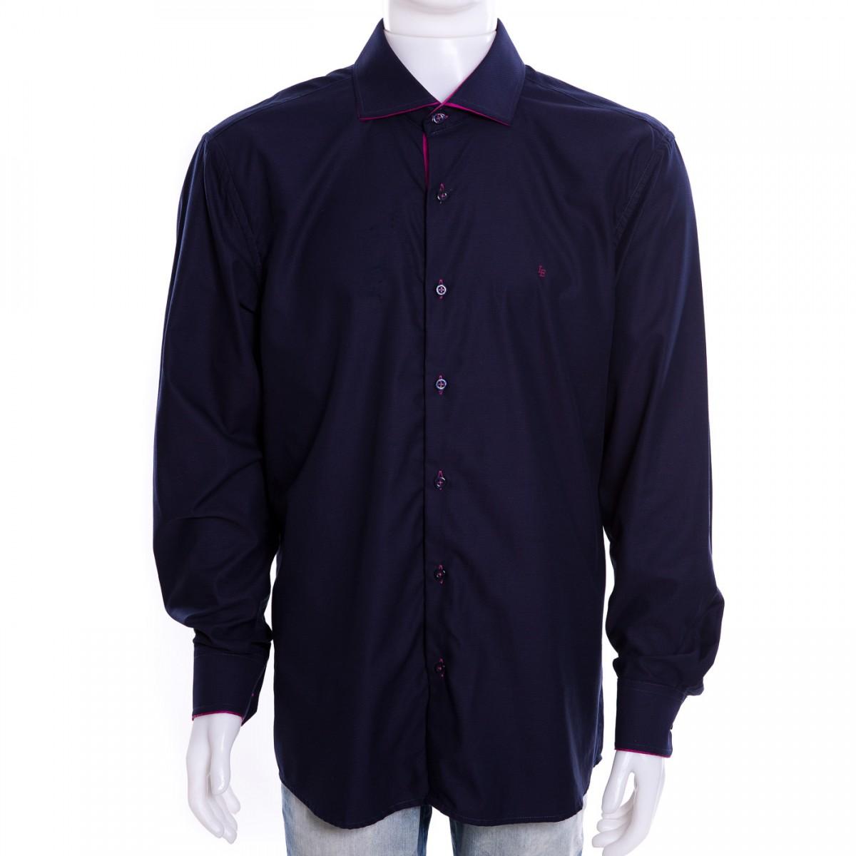 b2ebae17b Bizz Store - Camisa Social Masculina Luiz Eugenio Slim Confort
