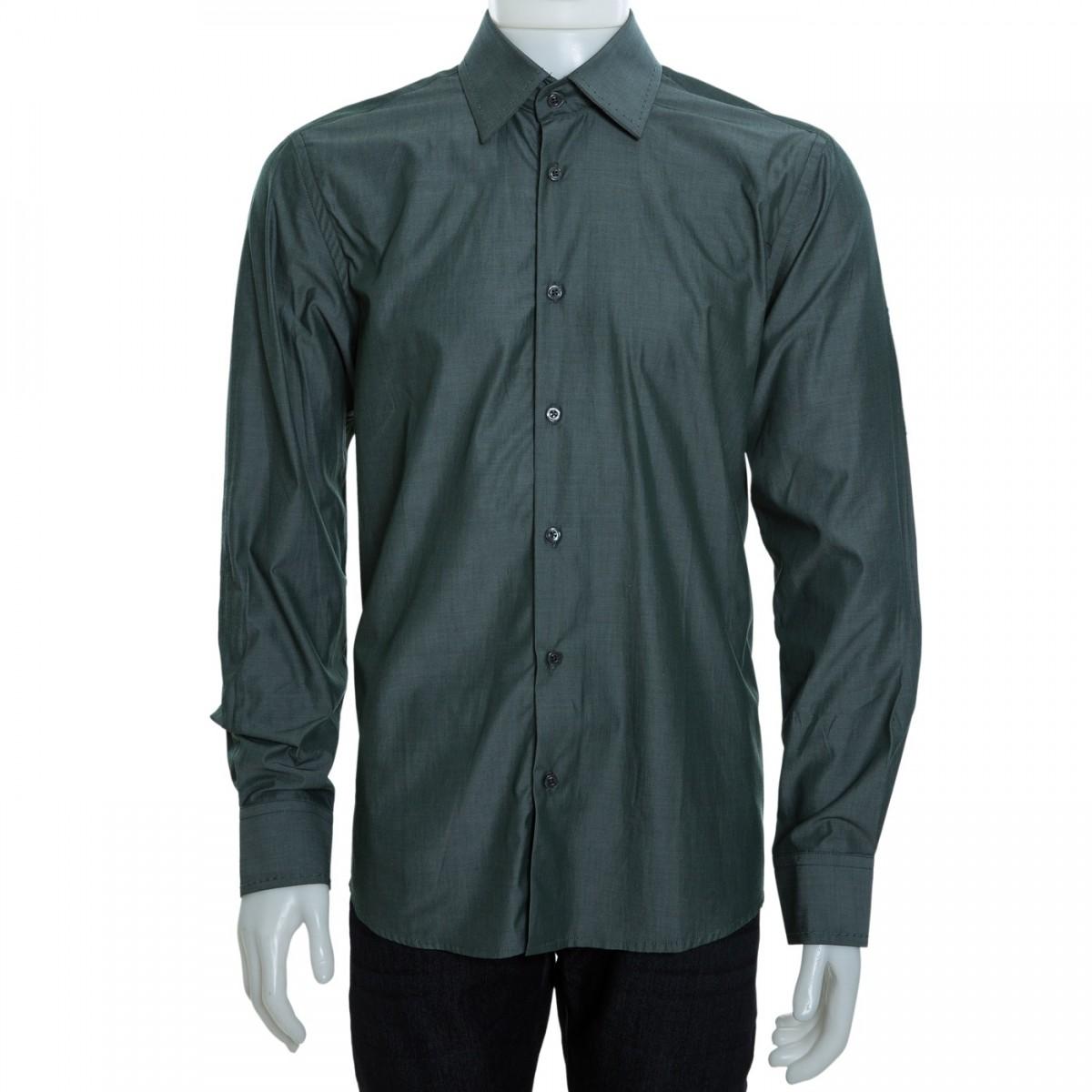 02bc95e3f4c36 Bizz Store - Camisa Social Masculina Luiz Eugenio Slim Manga Longa