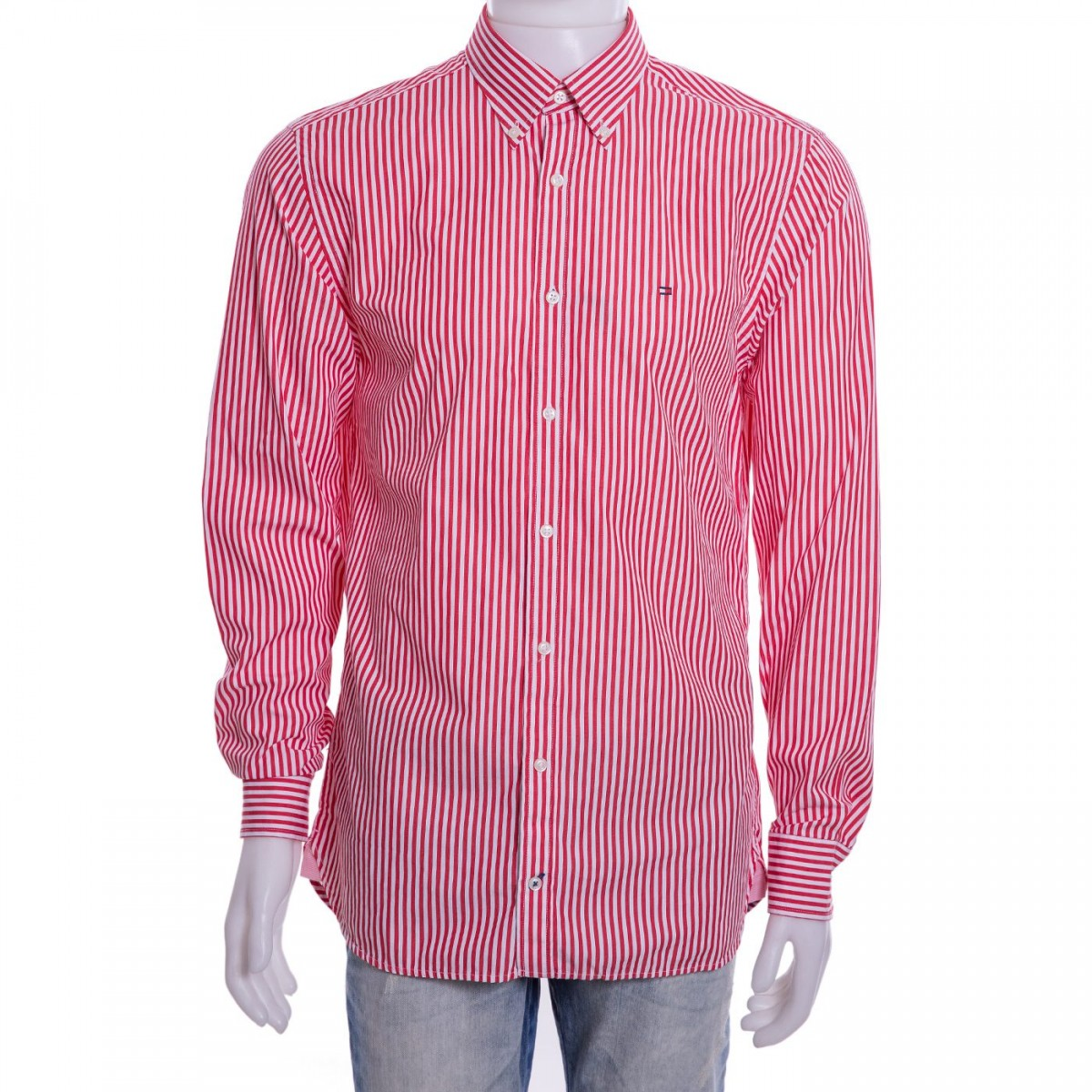 91407b063b1 Bizz Store - Camisa Social Masculina Tommy Hilfiger Manga Longa