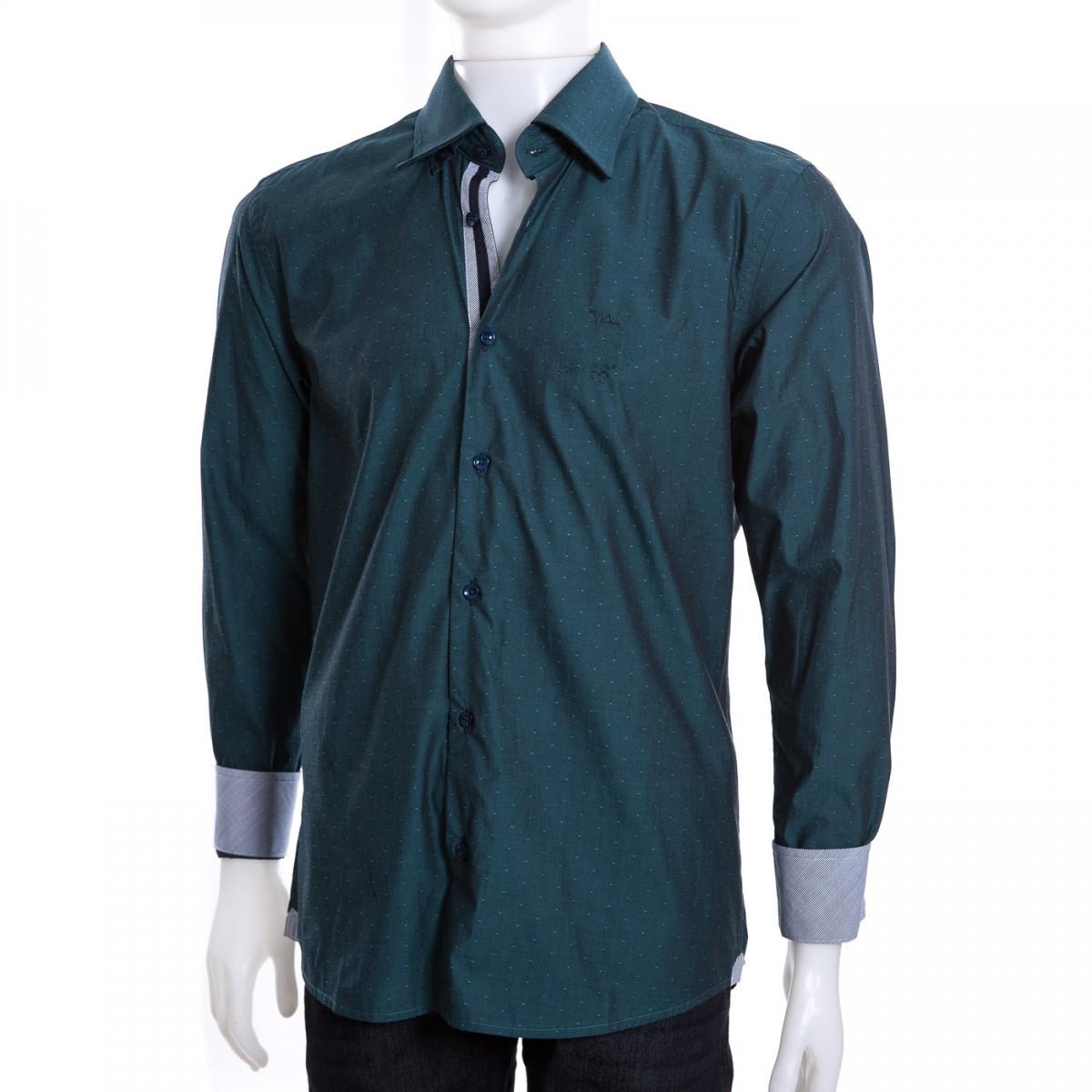 2d3c4a0b38 Bizz Store - Camisa Social Masculina W.Albann Slim Fio 60