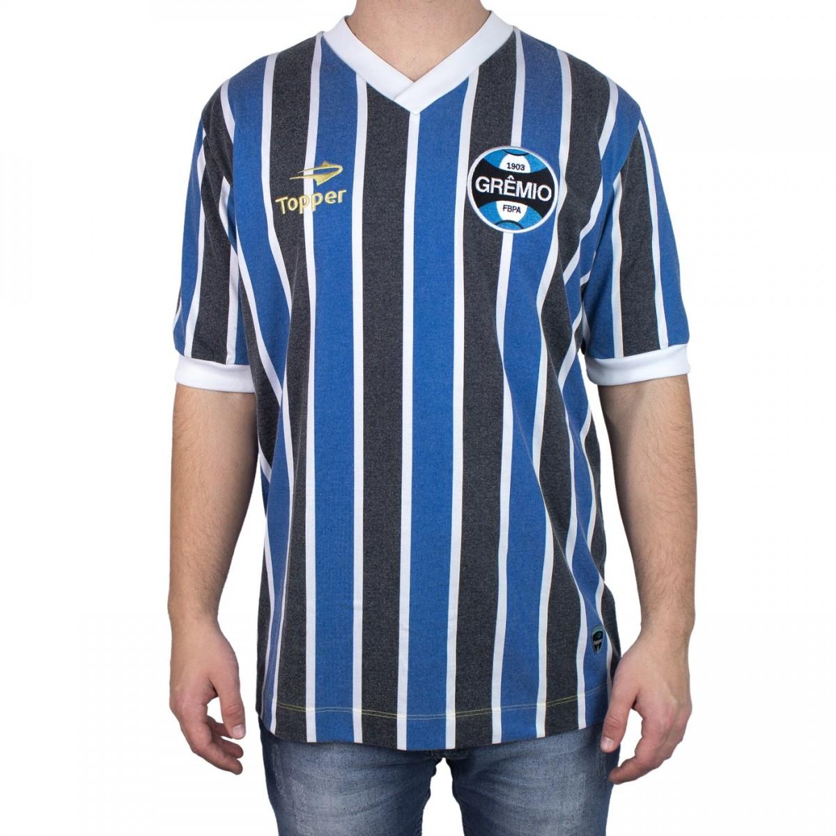 83b4301ddf704 Bizz Store - Camisa Oficial Grêmio Mundial Topper Masculina