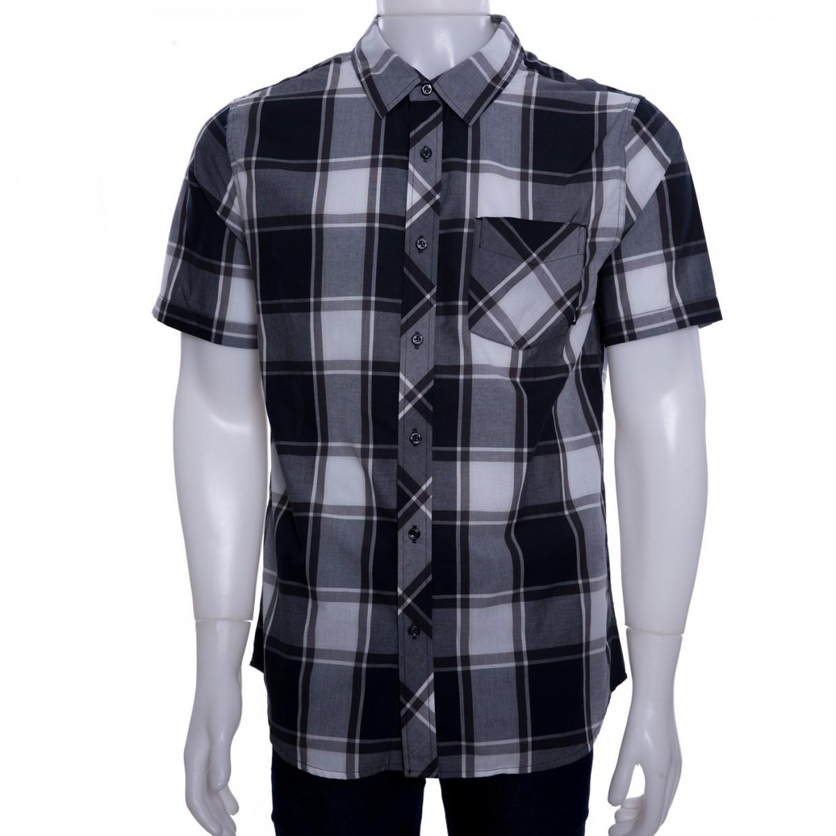 545dec12a1213 Bizz Store - Camisa Xadrez Masculina Nike Killingsworth Manga Curta