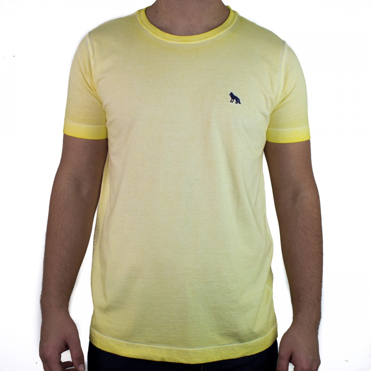 b5813f47c Bizz Store - Camiseta Masculina Acostamento Manga Curta Amarela