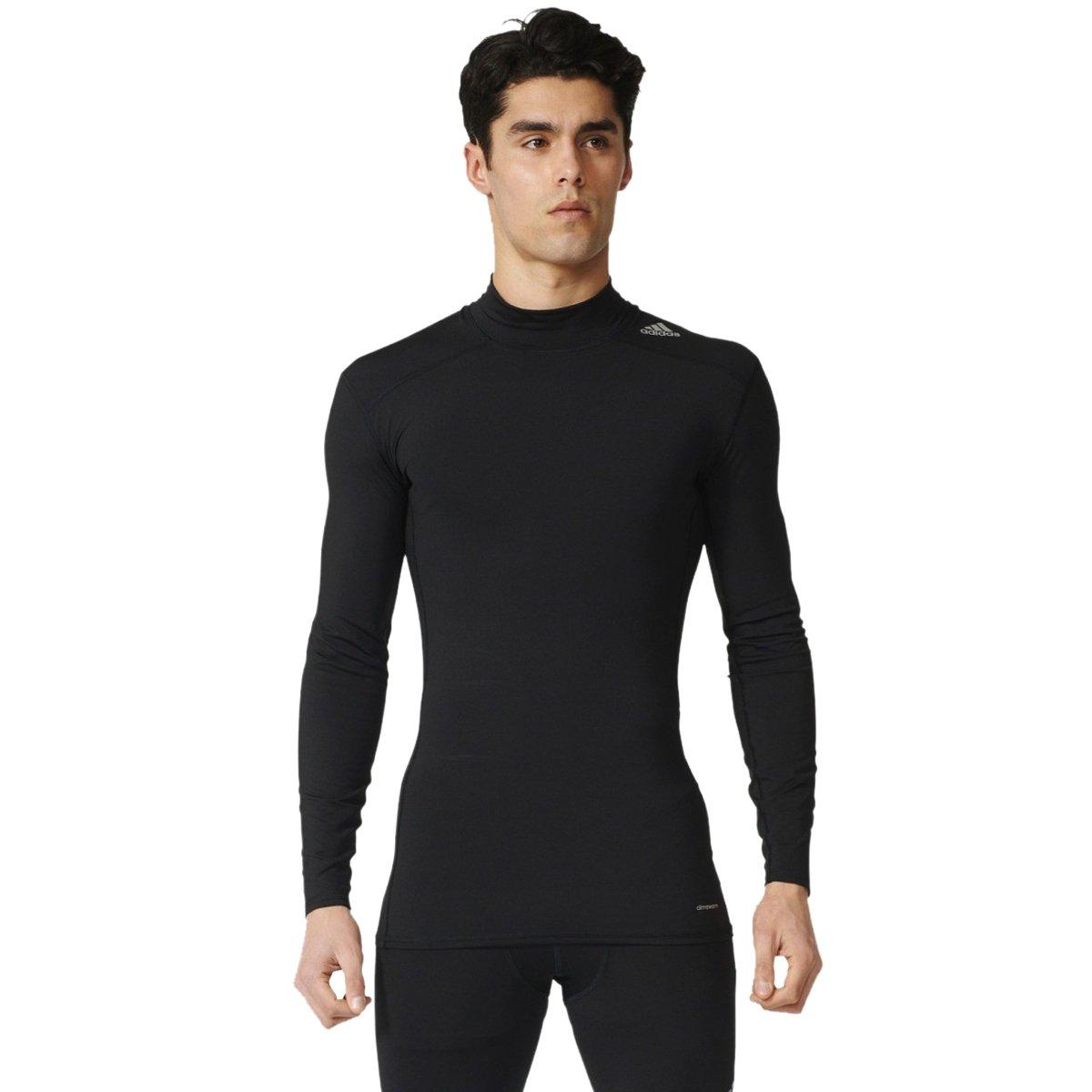 Bizz Store - Camiseta de Compressão Masculina Adidas TF Base Mock 48e7664205f8d
