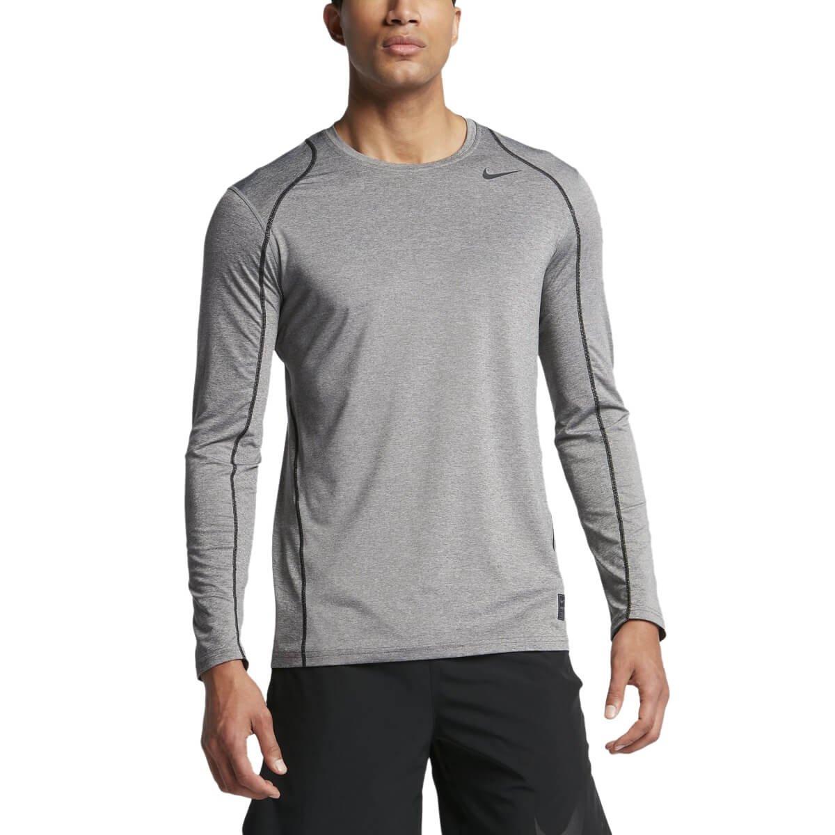bf6b34e73450a Bizz Store - Camiseta De Compressão Masculina Nike Cool Cinza