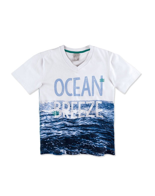 Bizz Store - Camiseta Infantil Hering Kids Verde Manga Curta 5710dd5f8cdc8