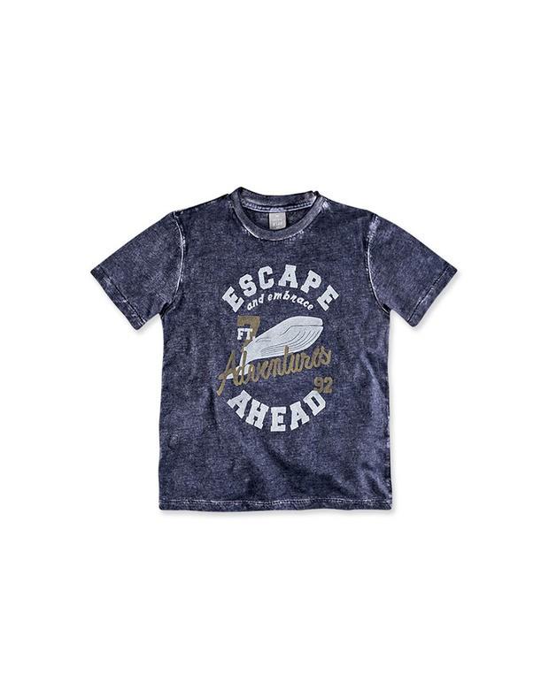 e5e15cee27528 Bizz Store - Camiseta Infantil Menino Hering Kids Azul Manga Curta