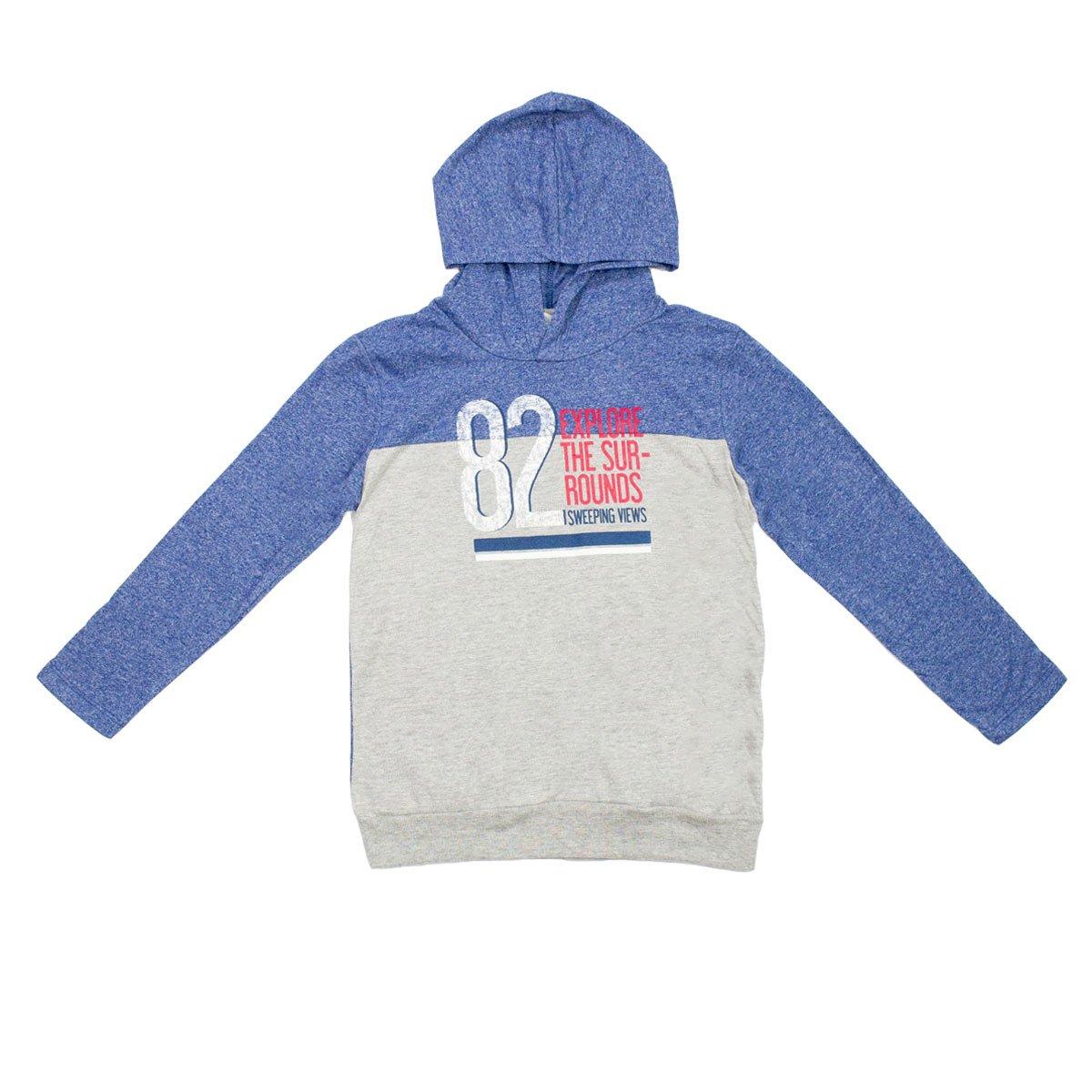 568898186 Bizz Store - Camiseta Infantil Hering Kids Com Capuz